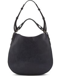 Givenchy Night Blue Zanzi Leather Obsedia Hobo Bag - Lyst