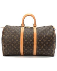 Louis Vuitton Pre-Owned Keepall 45 - Lyst