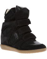 Isabel Marant Bekett Baskets Sneaker - Lyst