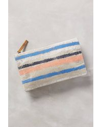Miss Albright | Naoko Linen Clutch | Lyst