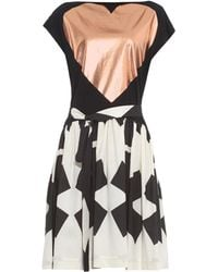 Vivienne Westwood Anglomania Baby Asterisk-Print Cotton Dress - Lyst