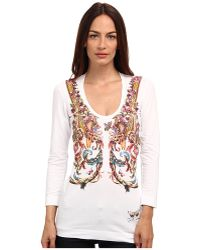 Just Cavalli tops long sleeved tops blouses - Lyst