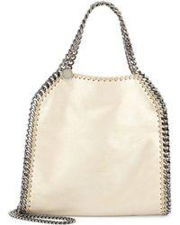 Stella McCartney Falabella Mini Fold-Over Tote Bag - Lyst