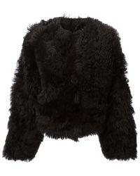 Neil Barrett Reversible Fur Jacket - Lyst