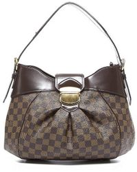 Louis Vuitton Preowned Damier Ebene Sistina Mm Bag - Lyst