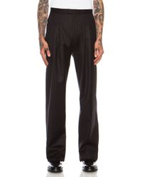 Calvin Klein Mens Fade Pleated Pant - Lyst