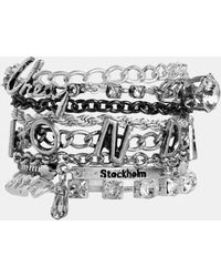 Cheap Monday Chain Bracelet - Lyst