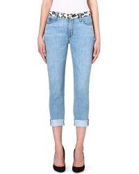Hudson Vice Versa Slouch Skinny Jeans Posterior Prey - Lyst