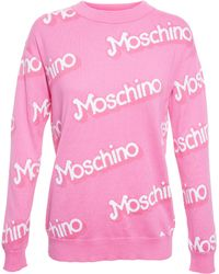 Moschino - Barbie Knitted Jumper - Lyst