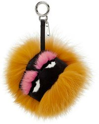 Fendi | Furry Monster Keycharm | Lyst