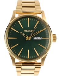 Nixon Green Wrist Watch - Lyst