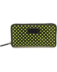 Marc By Marc Jacobs Slim Zippy Techno Mesh Wallet - Lyst