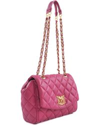 Love Moschino Medium Super Quilted Flap Bag - Lyst