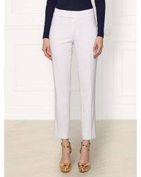 Ralph Lauren Stretch-Wool Theresa Pant - Lyst
