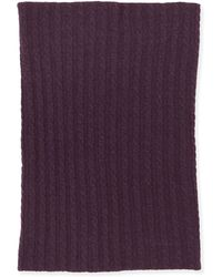 Brora Cashmere Fine Cable Snood
