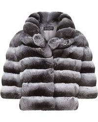 Harrods Dorothea Chinchilla Box Jacket - Lyst