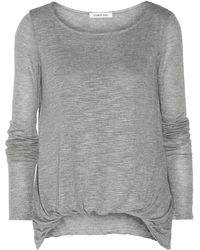 Elizabeth And James Kim Slub Jersey Top - Lyst