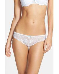 Heidi Klum Intimates 'Sabine' Lace Bikini - Lyst