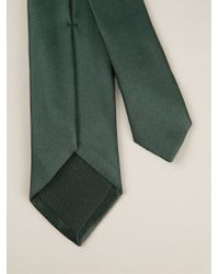 Kris Van Assche - Color-Blocked Tie - Lyst