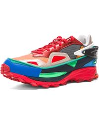 Raf Simons X Adidas Bounce Textile Sneakers - Lyst