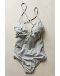 Eberjey Gray Madison Maillot - Lyst