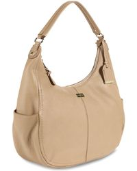 Cole Haan Village Rounded Hobo Bag - Lyst