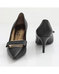 Lanvin Moma Pump with Bow - Lyst