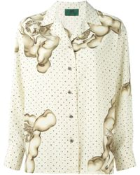 "Jean Paul Gaultier 'Angels' Print 'Junior Gaultier"" Shirt - Lyst"