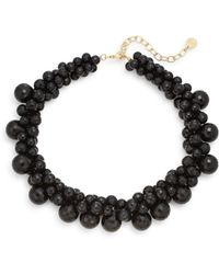 R.j. Graziano - Bubble Beaded Collar Necklace - Lyst