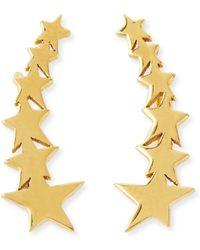 Jennifer Zeuner Vega Star Earring Cuffs - Lyst