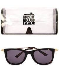 House Of Holland Fister Tortoiseshell Sunglasses - Lyst