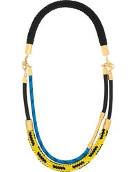 Marni Gold-Plated Rope Necklace - Lyst