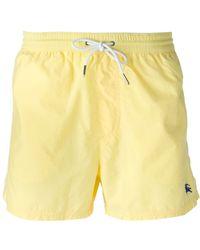 Burberry Brit Logo Embroidered Swim Shorts - Lyst