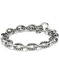 David Yurman - Medium Oval Link Bracelet - Lyst