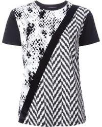 Emanuel Ungaro Pattern Print Tshirt - Lyst