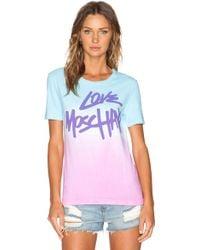 Love Moschino Graphic Tee - Lyst