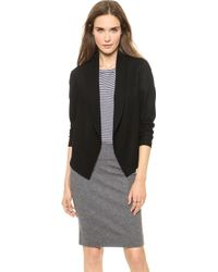 Theory Victorious Nove Cropped Jacket Black - Lyst