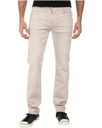 7 For All Mankind Luxe Performance Slimmy Slim Straight In Twill Colors - Lyst