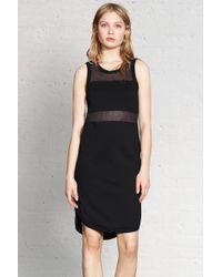 Rag & Bone Marlo Dress black - Lyst