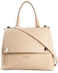 Givenchy Medium 'Pandora' Shoulder Bag beige - Lyst