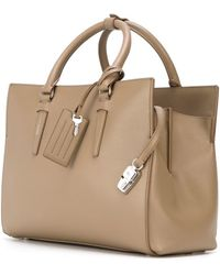 Agnona - Square-shaped Tote Bag - Lyst