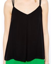 Coast Vida Cami Top with Back Lace Insert - Lyst
