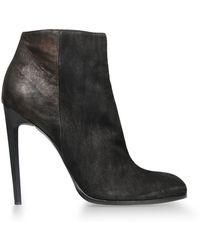 Haider Ackermann Ankle Boots - Lyst