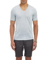 John Varvatos V-Neck T-Shirt - Lyst