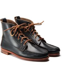 Kaufmann Mercantile Rancourt & Co. X Km Leather Boots black - Lyst