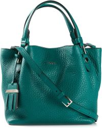 Tod's Small 'Flower' Tote - Lyst