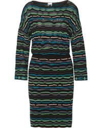 M Missoni Open Back Crochet Knit Dress - Lyst