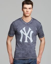 Red Jacket Blue Yankees Tee - Lyst