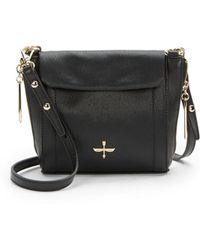 Pour La Victoire Riche Textured Leather Crossbody Bag - Lyst