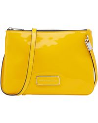 Marc By Marc Jacobs Double Percy Patent Leather Shoulder Bag - Lyst